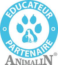 Logo Animalin éducateur partenaire, AoA éducation canine, Genève, Vaud, Valais, Haute Savoie.
